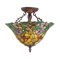 Z-Lite Eden 3 Light Semi-Flush Mount in Chestnut Bronze Z14-18-14 photo thumbnail