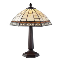 Z-Lite Prairie Garden 1 Light Table Lamp in Chestnut Bronze Z14-35TL