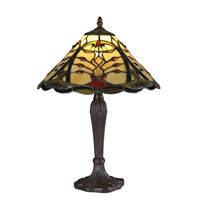 Z-Lite Jenova 1 Light Table Lamp in Chestnut Bronze Z14-46TL