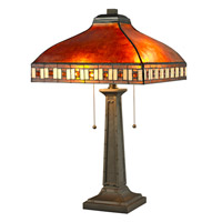 Z-Lite Crimson 2 Light Table Lamp in Java Bronze Z14-53TL