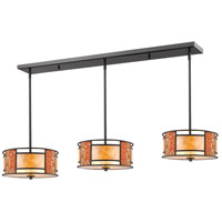 Parkwood 9 Light 55 inch Bronze Island Light Ceiling Light