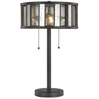 Juturna 23 inch 100 watt Bronze Table Lamp Portable Light