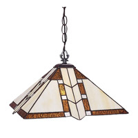 Prairie Garden 1 Light 14 inch Antique Brass Pendant Ceiling Light
