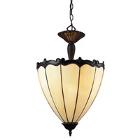 Z-Lite Ebony 3 Light Pendant in Chestnut Bronze Z16-39P