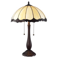 Z-Lite Ebony 2 Light Table Lamp in Chestnut Bronze Z16-39TL photo thumbnail
