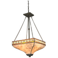 Z-Lite Z17-52P Crimson 3 Light 17 inch Java Bronze Pendant Ceiling Light