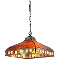 Z-Lite Z17-53-03 Crimson 3 Light 17 inch Java Bronze Pendant Ceiling Light