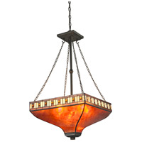 Z-Lite Z17-53P Crimson 3 Light 17 inch Java Bronze Pendant Ceiling Light