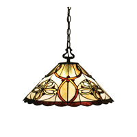 Z-Lite Albany 1 Light Pendant in Chestnut Bronze Z18-10-01