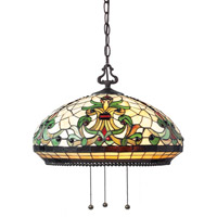 Z-Lite Templeton 3 Light Pendant in Chestnut Bronze Z18-34-03B