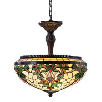 Z-Lite Z18-34P Templeton 3 Light 18 inch Chestnut Bronze Pendant Ceiling Light photo thumbnail