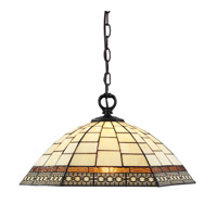 Z-Lite Prairie Garden 1 Light Pendant in Chestnut Bronze Z18-35-01