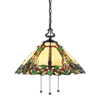 Z-Lite Vidonia 3 Light Pendant in Chestnut Bronze Z18-37-03B