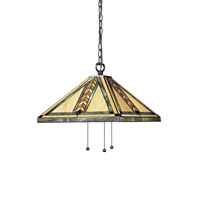 Z-Lite Shalimar 3 Light Pendant in Chestnut Bronze Z18-45-03B