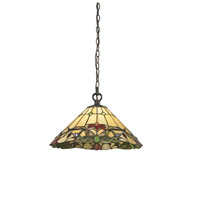 Z-Lite Sola 1 Light Pendant in Chestnut Bronze Z18-49-01