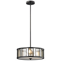 Z-Lite Z18-57P-C Juturna 3 Light 18 inch Bronze Pendant Ceiling Light