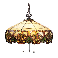 Z-Lite Hudson 3 Light Pendant in Chestnut Bronze Z20-33-03B