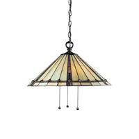 Z-Lite Moa 3 Light Pendant in Chestnut Bronze Z20-42-03B