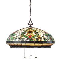 Z-Lite Templeton 3 Light Pendant in Chestnut Bronze Z22-34-03B