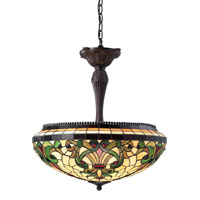 Z-Lite Templeton 3 Light Pendant in Chestnut Bronze Z22-34P