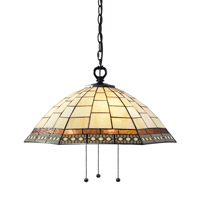 Z-Lite Prairie Garden 3 Light Pendant in Chestnut Bronze Z22-35-03B