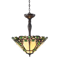 Vidonia 3 Light 22 inch Chestnut Bronze Pendant Ceiling Light
