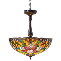 Z-Lite Rosa 3 Light Pendant in Chestnut Bronze Z22-38P photo thumbnail