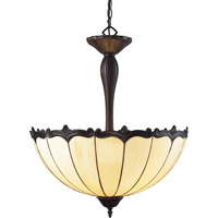Z-Lite Ebony 3 Light Pendant in Chestnut Bronze Z22-39P