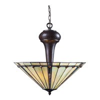 Z-Lite Moa 3 Light Pendant in Chestnut Bronze Z22-42P