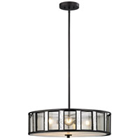 Z-Lite Z24-57P-C Juturna 4 Light 24 inch Bronze Pendant Ceiling Light