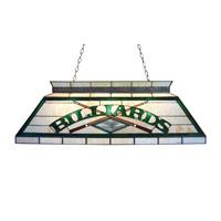 Z-Lite Tiffany Billiard 4 Light Billiard in Antique Brass Z42-25-04