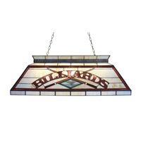 Z-Lite Tiffany Billiard 4 Light Billiard in Antique Brass Z42-26-04