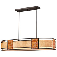 Parkwood 4 Light 42 inch Bronze Island Light Ceiling Light