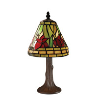 Z-Lite Tiffany 1 Light Table Lamp in Chestnut Bronze Z6-40MTL