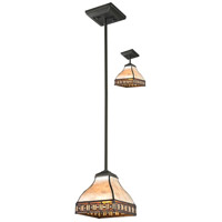Z-Lite Crimson 1 Light Mini Pendant in Java Bronze Z6-52MP