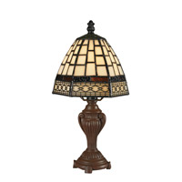 Z-Lite Tiffany 1 Light Table Lamp in Chestnut Bronze Z6-5MTL