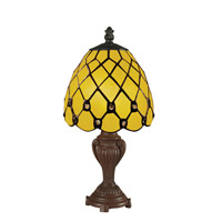Z-Lite Tiffany 1 Light Table Lamp in Chestnut Bronze Z6-8MTL