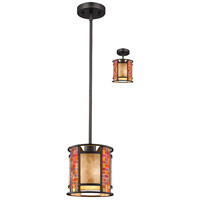 Parkwood 1 Light 8 inch Bronze Mini Pendant Ceiling Light